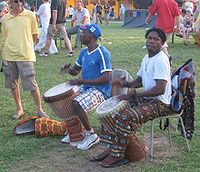 djembe players